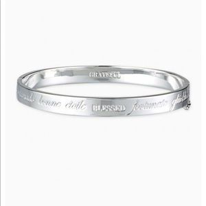 Stella and Dot Inspiration Bangle in Silver
